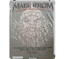 EPCOT's Maelstrom iPad Case/Skin