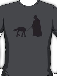 Darth Vader Walking ATAT T-Shirt