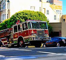 San Francisco Fire Deparment by Kasia-D