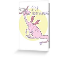 stop bodyshaming (sfw) Greeting Card