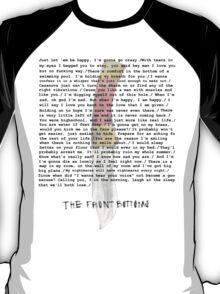 Compilation of Front Bottoms Lyrics  T-Shirt