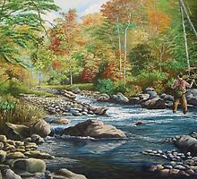 A Trout Fisherman's Dream- Absolute Solitude by Daniel Butler