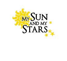 My sun and my stars - Khal Drogo & Daenerys Targaryen Photographic Print