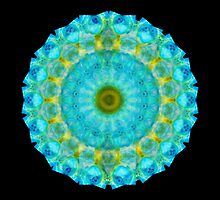 Sacred Voice - Mandala Art By Sharon Cummings by Sharon Cummings