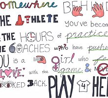 Mia Hamm Quote Art by sketch-uswnt