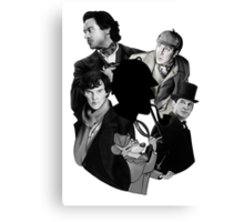 Sherlocks Canvas Print