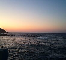 Cretan sunset  by Maibie