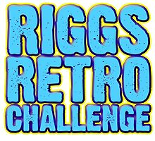 Riggs Retro Challenge Mini-Logo by johnblueriggs