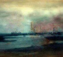 Shipyard - 1910 by cherylkerkin