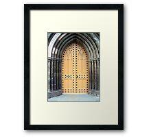 A Kirk (church) door in Perth Framed Print