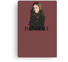 teen wolf - banshee Canvas Print