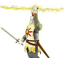 Praise the Sun! - Knight Solaire Dark Souls by Mateusz Lipski