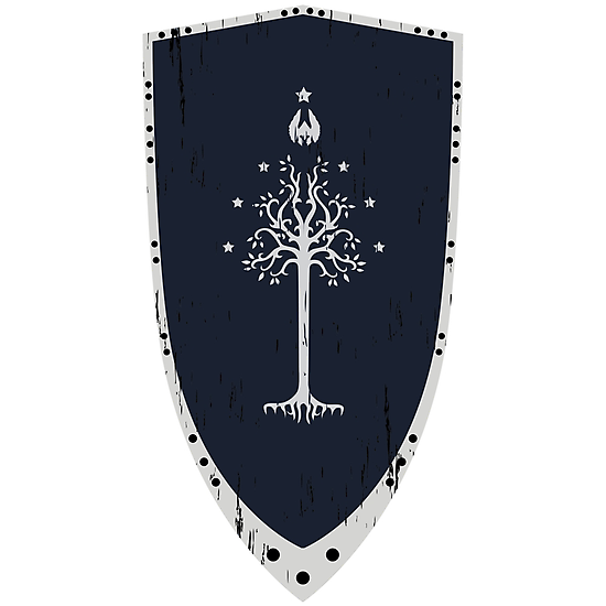 Lord Of The Rings - Gondor Shield by quark