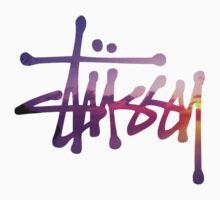 Stussy Purple Script Logo by samjones24