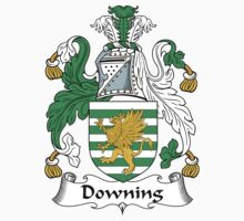 Downing Coat of Arms (English) by coatsofarms
