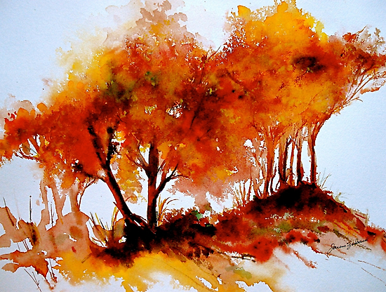 The Trees-Autumn by ©Janis Zroback