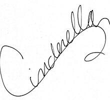 Cinderella Signature  by allyonlyweknow