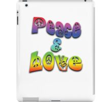 Peace & Love iPad Case/Skin