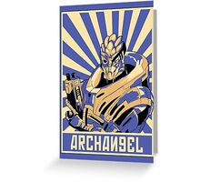Archangel  Greeting Card