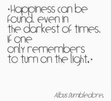 Albus Dumbledore quote Kids Clothes