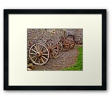 Been round a long time Framed Print