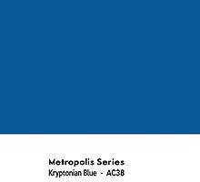 Metropolis Series- Kryptonian Blue by txjeepguy2