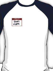 """Fight Club- """"I AM JACK'S NIPPLE T-Shirt"""