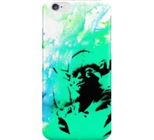 Yoda Paint splatter iPhone Case/Skin