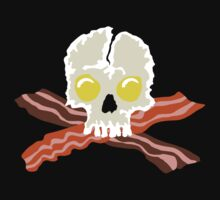 Bacon Crossbones Eggs Skull by Garaga