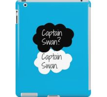 Captain Swan? Captain Swan. iPad Case/Skin