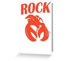 B52 Rock Lobster Retro Black T-shirt Sz S M L XL Greeting Card