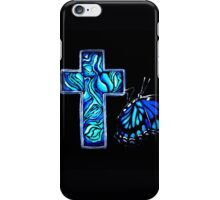Paua Cross iPhone Case/Skin