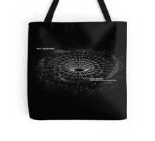 Infographic - Black Hole Tote Bag