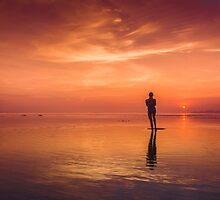 Standing on Sunsets by kotchenography
