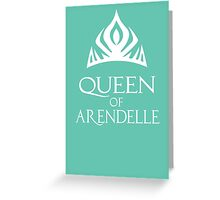 Queen of Arendelle Greeting Card