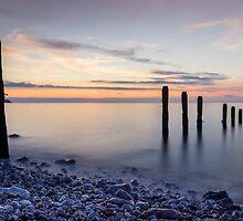 Ocean Sunrise by Ian Mitchell