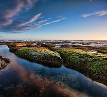 Sunset Reflections at Wreck Beach II by Chris  Randall