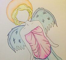 Robed Angel by megan1983morris