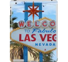 Welcome to Fabulous Las Vegas! iPad Case/Skin