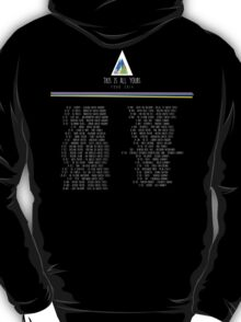 Alt-J: This Is All Yours TOUR #2 T-Shirt
