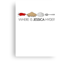 Utopia - where is Jessica Hyde? Canvas Print