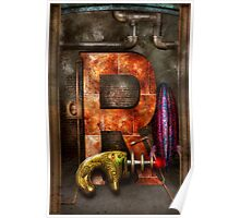 Steampunk - Alphabet - R is for Ray Gun Poster
