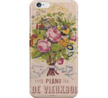 Le Bouquet iPhone Case/Skin