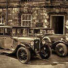 Austin Six and Invicta Pre War Cars - Sepia by © Steve H Clark