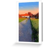 Early summer morning hiking trip | landscape photography Greeting Card
