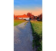 Early summer morning hiking trip | landscape photography Photographic Print