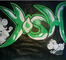 Yoshi  by domination15