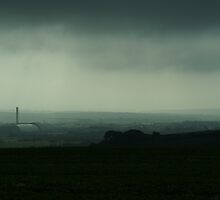 Newhaven Incinerator In The Gloom. by glynk