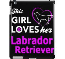 Labrador Retriever iPad Case/Skin