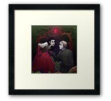In the woods Framed Print